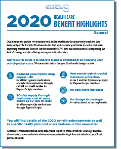 2020 Benefit Highlights cover thumbnail