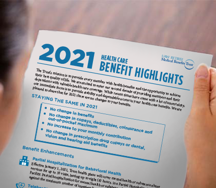 2021 Benefit Highlights