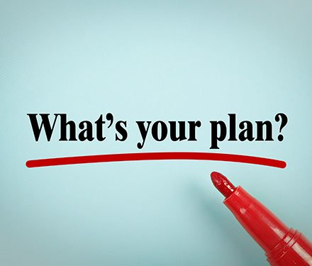 "The words ""what's your plan?"" written in marker with a red marker laying beside it"